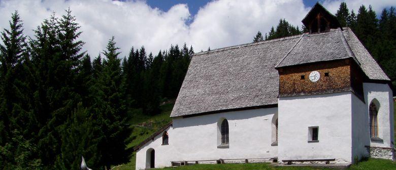 Rosenkranz in der  St. Agatha Bergknappenkapelle