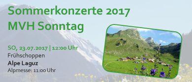 Frühschoppen MVH Sonntag | Alpe Laguz