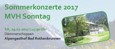 Dämmerschoppen MVH Sonntag | Alpengasthof Bad Rothenbrunnen