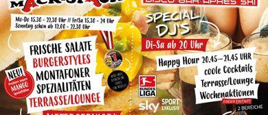Wochen Partys Ausrutscher & Mäck Späck / Grill Restaurant