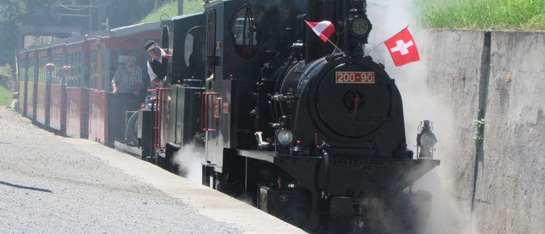 Rheinmündungsfahrt mit der Dampflokomotive