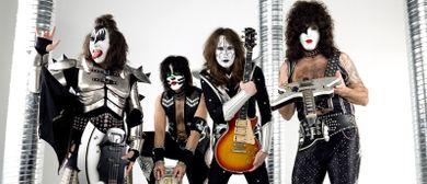 Kiss Forever Band zum 1-Jahr-Jubiläum Mauerwerk Bürs
