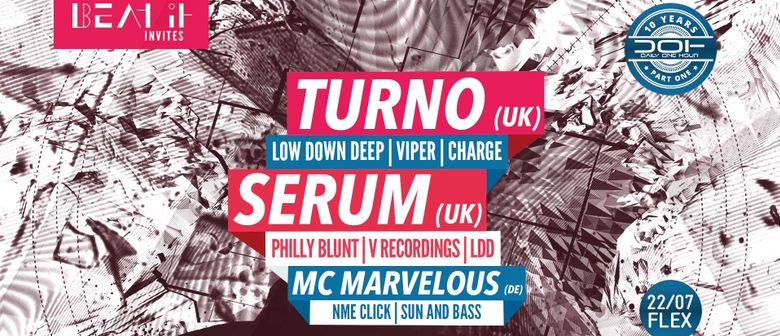 Beat It invites DOH with TURNO UK & SERUM UK