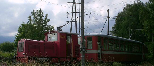 E-Lok Fahrt nach Widnau