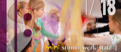 stimmzauber - Kurs für 3-6 Jährige ohne Begleitung
