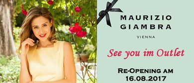 Re-Opening des Maurizio Giambra Outlets