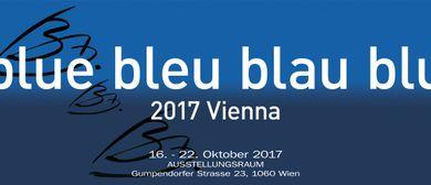 Blue bleu blau blu 2017 Vienna