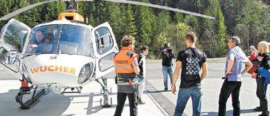 Öffentliche Backstage-Tour bei Wucher Helicopter Ludesch