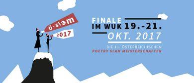 Ö-Slam 2017 - Die Österreichischen Poetry Slam Meisterschaft