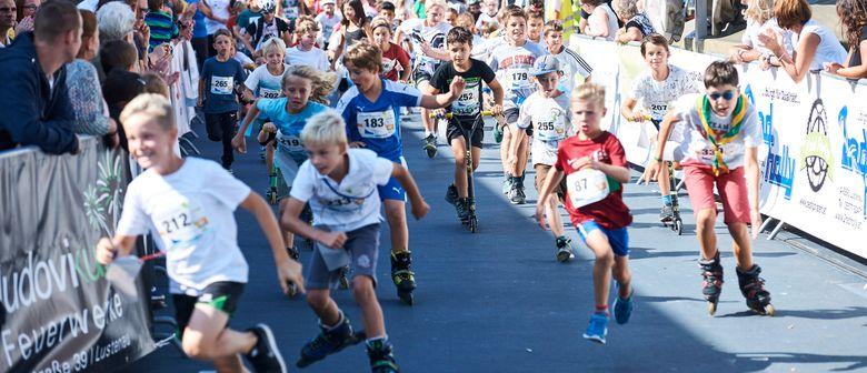 Lustenau in Kinderhand - Spielefest und Stundenlauf 2017