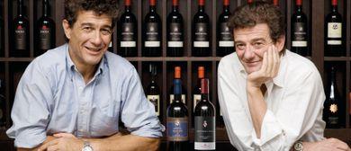 Filippo Mazzei und Lorenzo Baldacci bei WEIN & CO