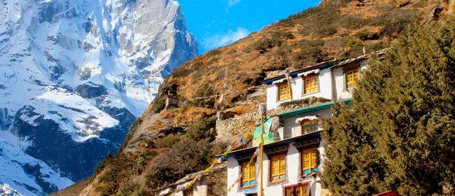 Das Land am Himalaya - Nepal-Village auf der Alpinmesse 2017