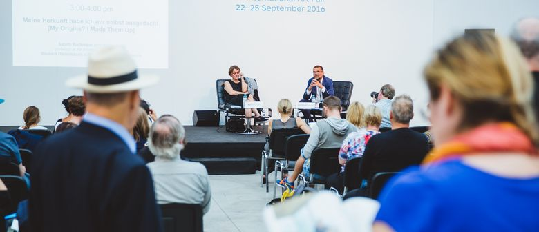 viennacontemporary 2017 – Borderline: Talks-Programm, Teil 2