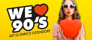ANTENNE VORARLBERG – We love 90's mit DJ Enrico Ostendorf