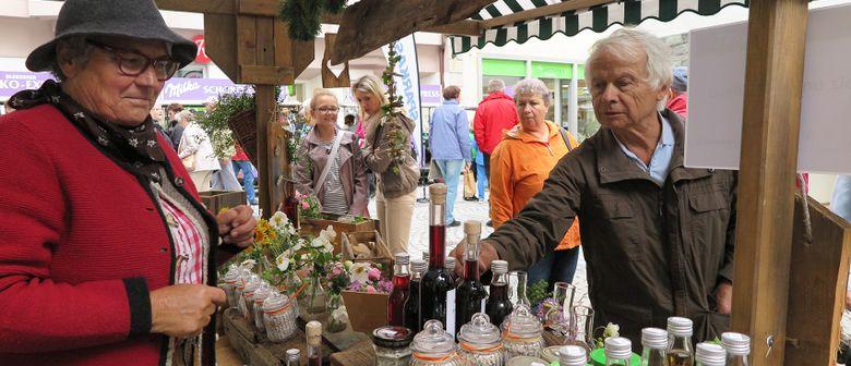 Bunter Erntedankmarkt in Bludenz: Land trifft Stadt