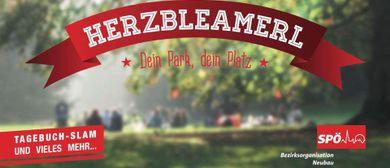 Herzbleamerl - Tagebuch Slam im Park