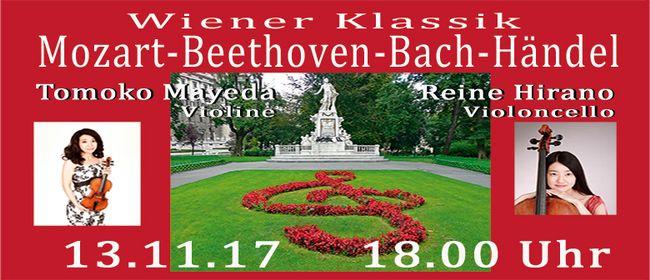 Mozart - Beethoven - Bach - Händel Violinkonzert