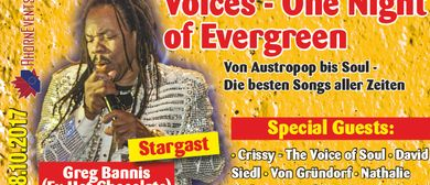 VOICES, ONE NIGHT OF EVERGREEN