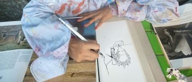 Art contact project - Zeichnungen
