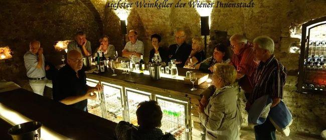 Kommentierte Weinverkostung und Kellerführung