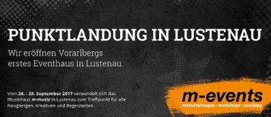 m-events eröffnet in Lustenau!