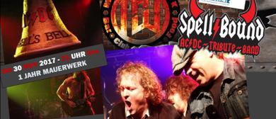 SPELLBOUND as AC DC live im Mauerwerk Bürs