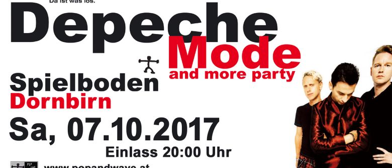 32te Depeche Mode & more Party
