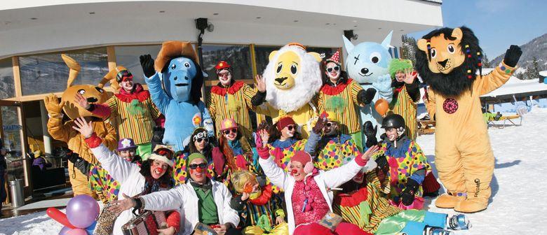 Bunte Clownparty