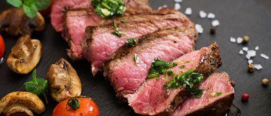 Sirloin Steak im Vienna 1st