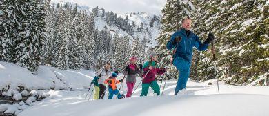 Geführte Schneeschuhwanderung Tiefenwald - Damüls Faschina