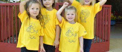 Feiert mit uns 20 Jahre Messepark-Kindergarten