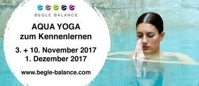 Aqua Yoga mit Begle Balance