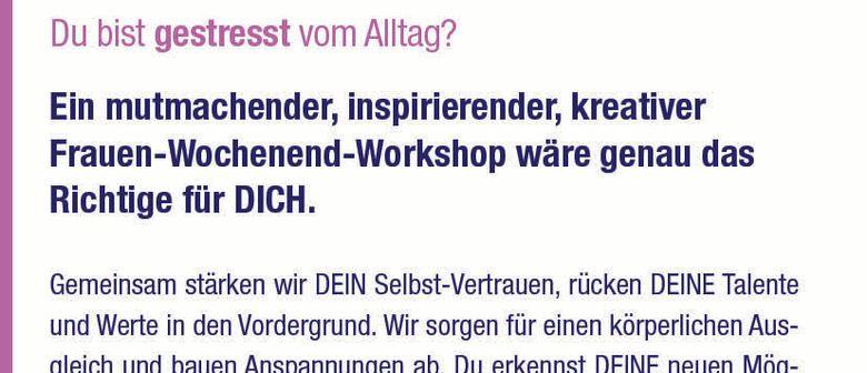 Frauen - Workshop - Zeit, neue Wege zu gehen