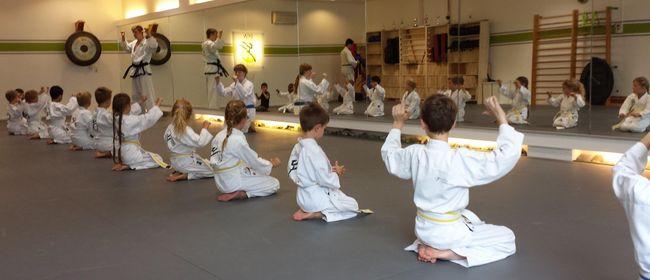 Taekwon-Do für Kinder ab 4 Jahren