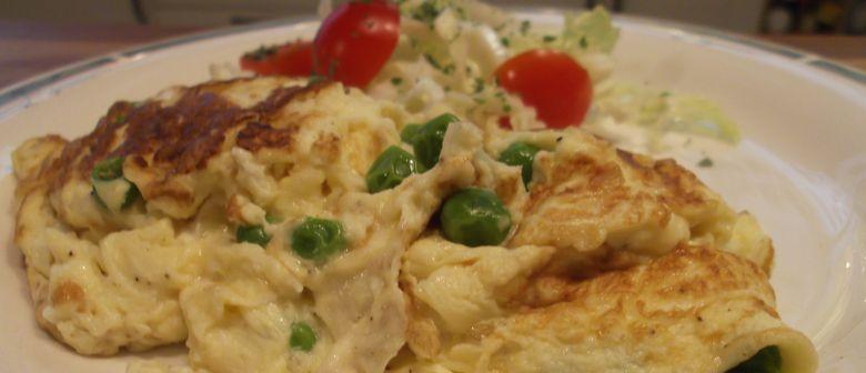 Alles Omelette, wunderbare Eier-Speise