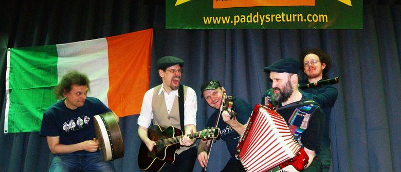 Paddy's Return - Irish Pub-Folk im Pub!