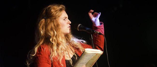Wortschmiede Poetry Slam - Lachen, laben, lieben