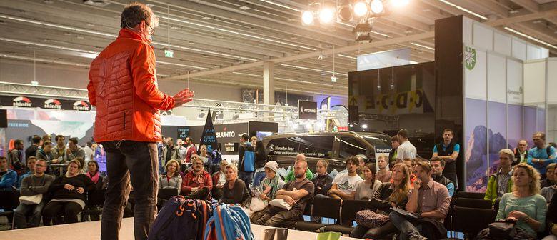 Eröffnungsdiskussion der Alpinmesse 2017