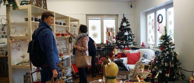 Weihnachtsstimmung im Brockenhaus