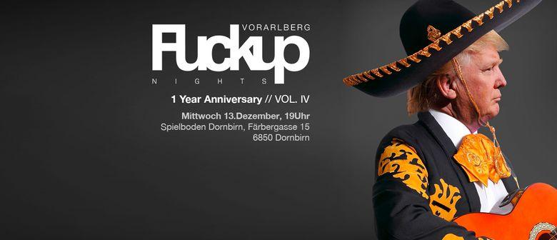 FuckUp Nights Vorarlberg // VOL. IV