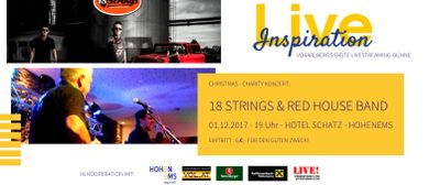 Christmas Charity Konzert: 18 Strings + Red House Band