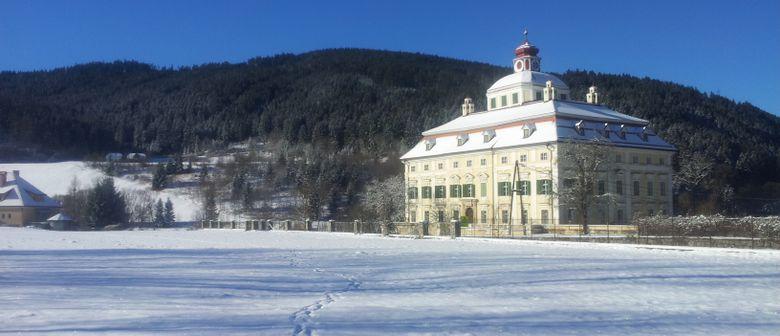 Winterzauber in Schloss Pöckstein