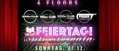 Die große Loft-Feiertag Silvestergala (4 floors!)