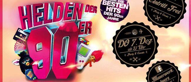 90er PARTY 16+ im MAUERWERK Bürs