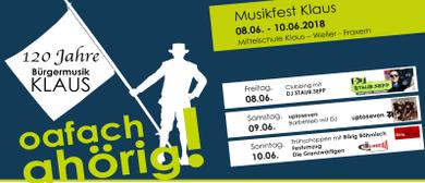 Musikfest 2018 - Sonntag