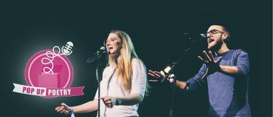Pop Up Poetry: Slam Champ Edition w/ Alex Burkhard & Agnes M