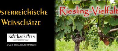 Weinverkostung: Riesling-Vielfalt