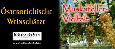 Weinverkostung: Muskateller-Vielfalt