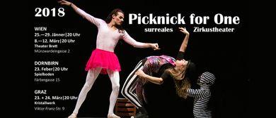 Picknick for One - surreales Zirkustheater in Wien