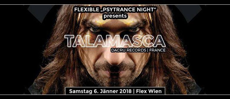 Flexible – TALAMASCA live & Djane Gaby